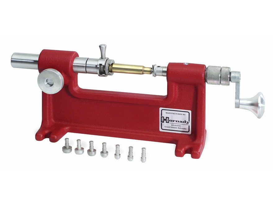 Hornady Case Trimmer Camlock W 7 Pilots X Reload