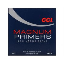 CCI PRIMER 250 LARGE RIFLE MAG 100/bx
