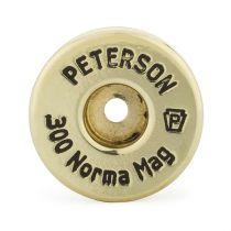 Peterson - Brass - 300 Norma Magnum Unprimed 50/Box