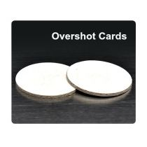 "Ballistic Products - Overshot Card 20 ga .03""/.625""-Dia. 500/Bag"