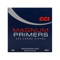 CCI PRIMER 350 LARGE PISTOL MAG 100/bx