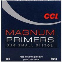 CCI - Primer - 550 - Small Pistol Magnum 100/Box