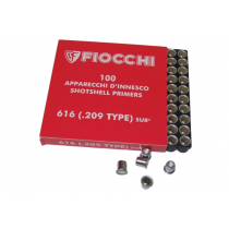 FIOCCHI 616 (.209 TYPE) SHOTSHELL PRIMERS 100/BX