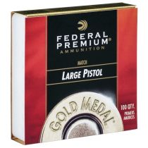 FEDERAL PRIMER LARGE PISTOL MATCH 100/Box
