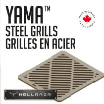 HELLRAZR - Stainless Steel Grills (Pack of 2)