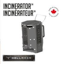 HELLRAZR - INCINERATOR Chimney Starter & Portable Grill