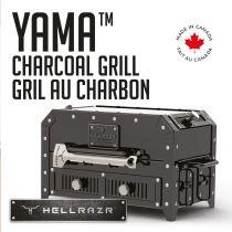 HELLRAZR - YAMA Charcoal Grill