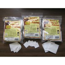 """Butch's - Cleaning Patch - Twill Patch 6mm BR 1.5"""" Square 1000/Bag"""