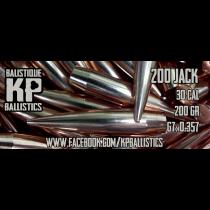 KP BALLISTICS .308 200gr JACK 100/BOX