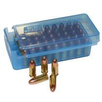 MTM - PISTOL SIDE SLIDE 50rd 9mm CLR-BLUE