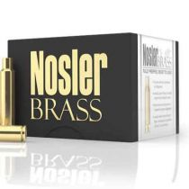 NOSLER BRASS 243 WIN UNPRIMED 50/bx