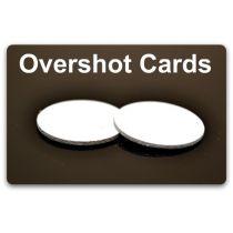 "Ballistic Products - Overshot Card 12 ga .03""/.74""-Dia. 500/Bag"
