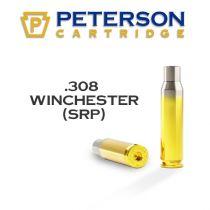 Peterson - Brass - 308 Winchester Small Primer Unprimed 50/Box