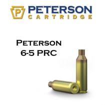 Peterson - Brass - 6.5 PRC Unprimed 50/Box