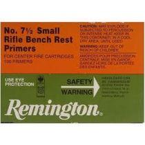 Remington - Primer - 7-1/2 Small Rifle Bench Rest 100/Box