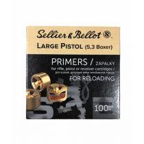 Sellier & Bellot - Primer - Large Pistol 100/Box