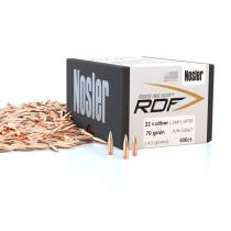 NOSLER 22c(.224) 70gr HPBT BULLET RDF 500/bx