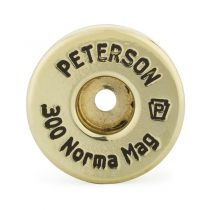 Peterson Brass 300 Norma Mag Unprimed Box of 50