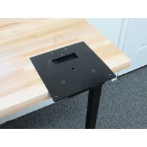 INLINE FABRICATION FLUSH MOUNT QUICK CHANGE BASE PLATE