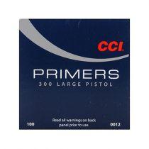 CCI PRIMER 300 LARGE PISTOL 100/bx