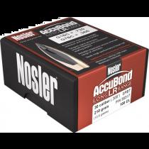NOSLER ACCUBOND LR 7mm 168 gr BC .652 100/bx