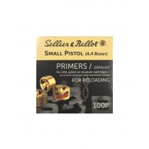 SELLIER & BELLOT PRIMER SMALL PISTOL  100/bx