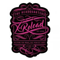"""X-RELOAD STICKER VINTAGE #4 - 3"""" X 4"""""""