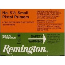REMINGTON PRIMER 5-1/2 SMALL PISTOL MAGNUM 100/BX