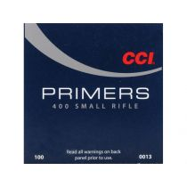 CCI PRIMER 400 SMALL RIFLE 100/bx
