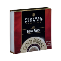 FEDERAL 100 PRIMER SMALL PISTOL MATCH 100/bx