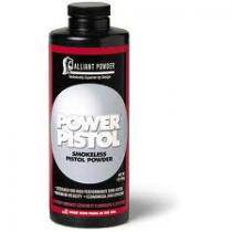 ALLIANT POWER PISTOL 1LB POWDER
