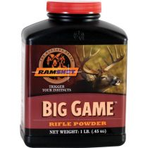 RAMSHOT BIG-GAME 1LB POWDER (RIFLE)