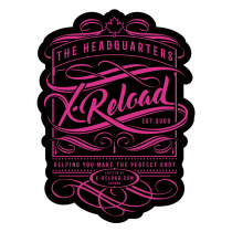 "X-RELOAD STICKER VINTAGE #4 - 3"" X 4"""
